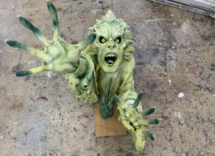 Poltergeist Green Ghoul Prop