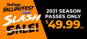 2021 Season Passes Only $49.99