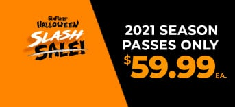 2021 Season Passes Only $59.99