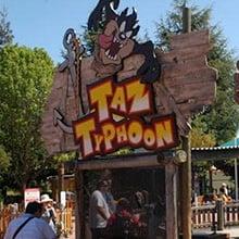 Entrance to Taz Typhoon.