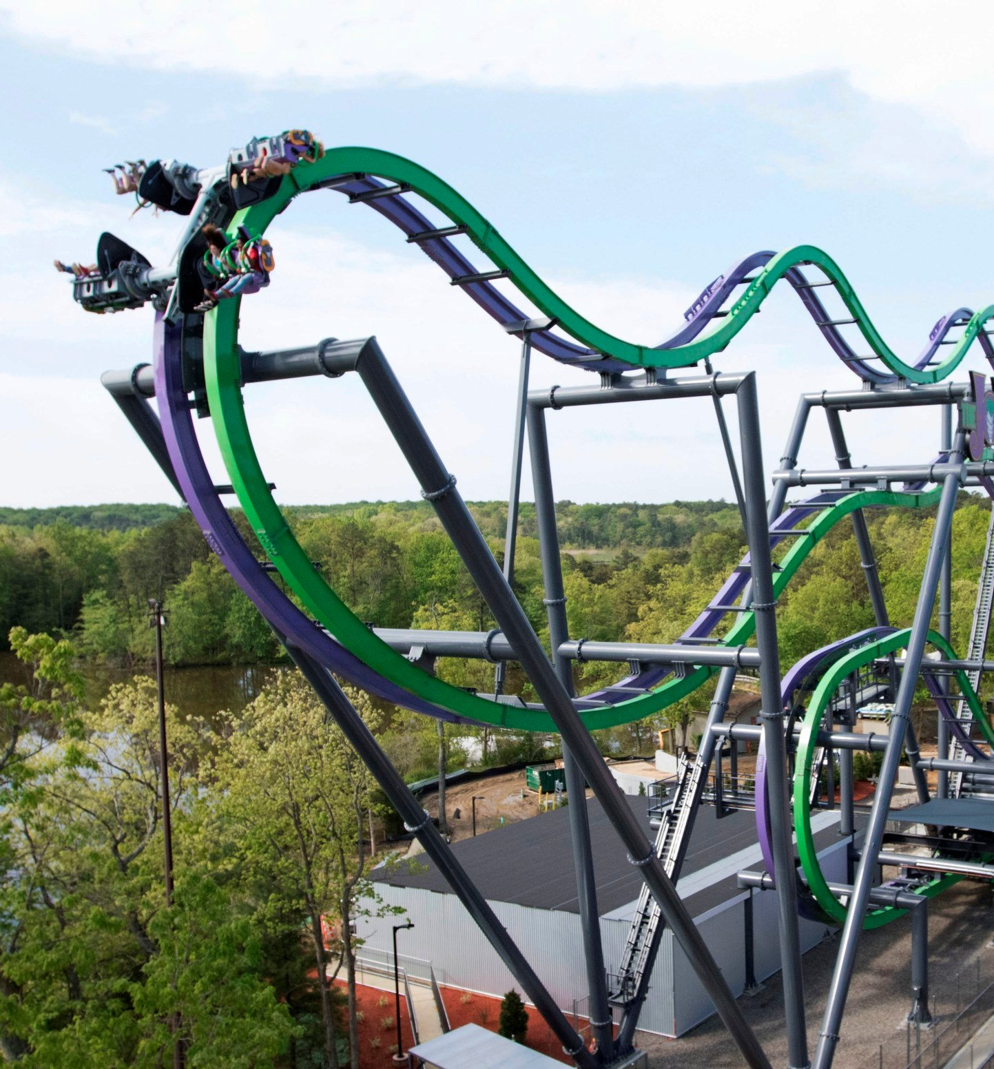 Coaster Power Hours Six Flags Great Adventure