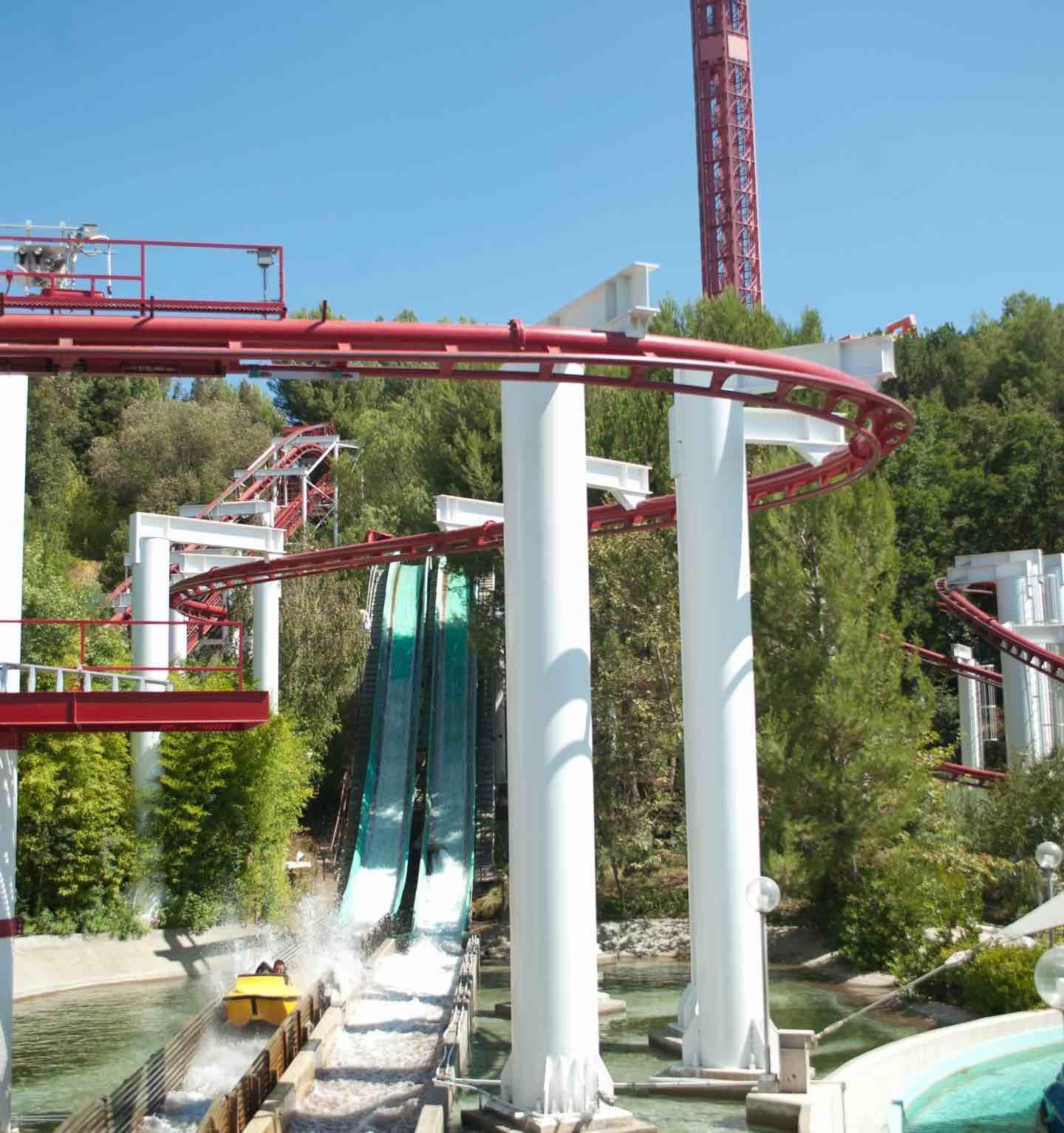 Jet Stream Six Flags Magic Mountain