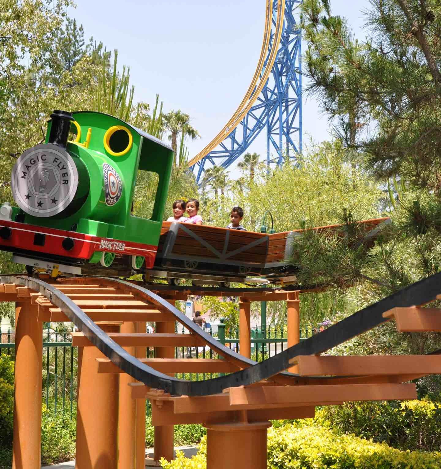 Magic Flyer Six Flags Magic Mountain