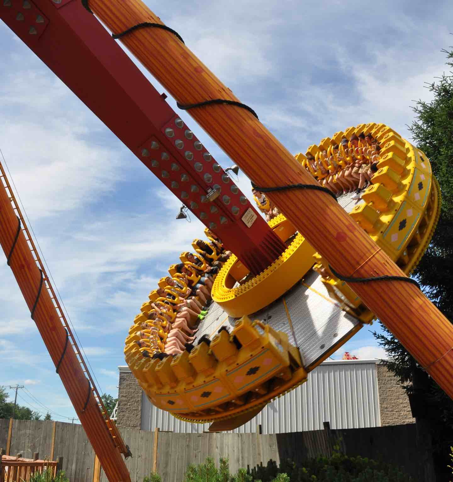 Giant spinning ride.