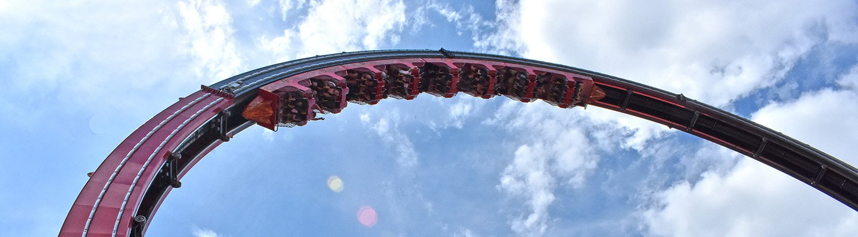 El Diablo at Six Flags