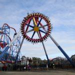 A giant pendulum ride.