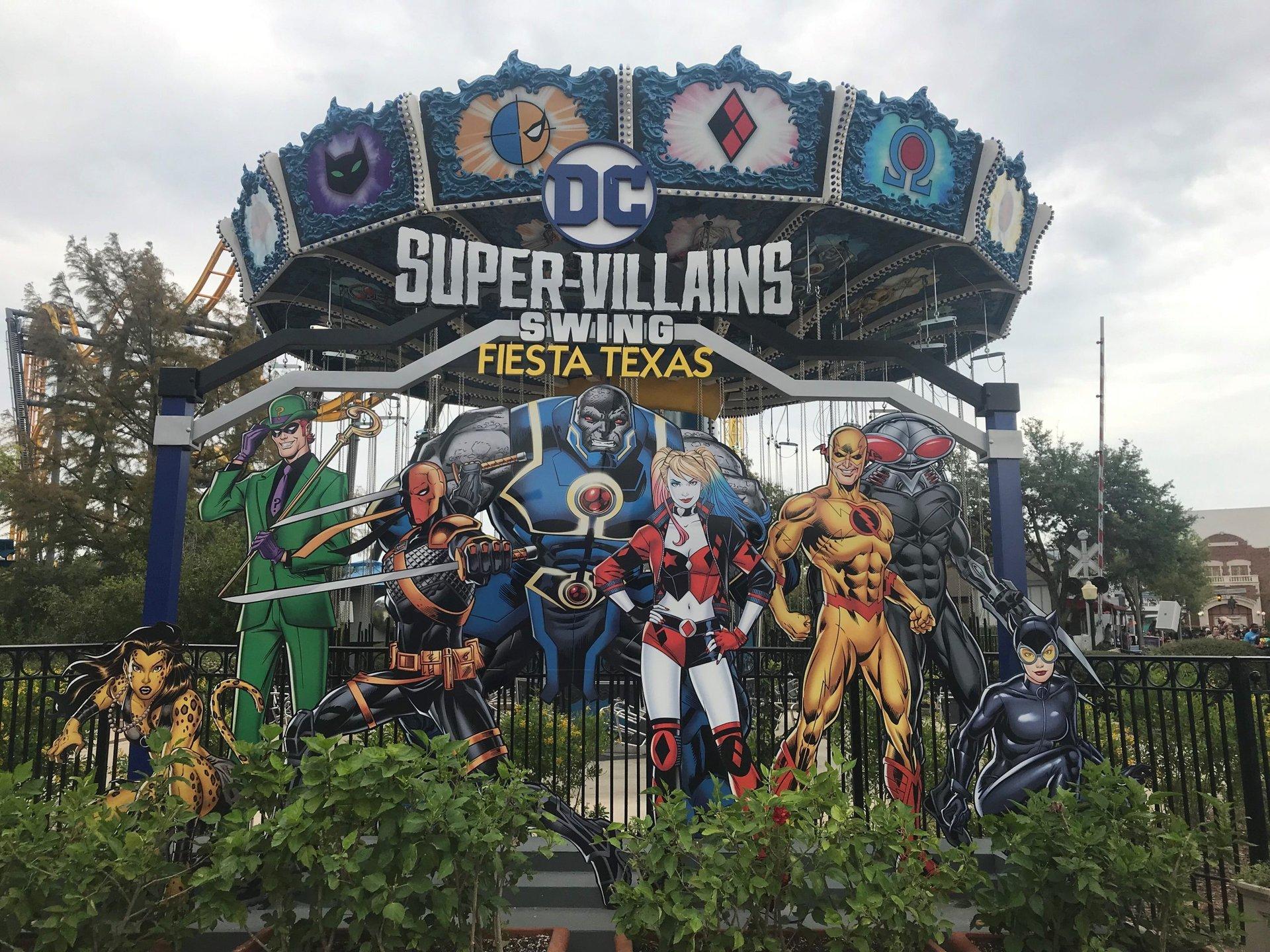 view of super villain swing