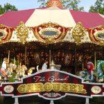 Full carousel in motion.