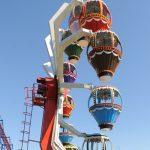 A hot air balloon Ferris wheel.
