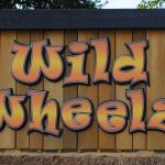 Wild Wheelz sign.