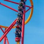 Wonder Woman ride at Six Flags