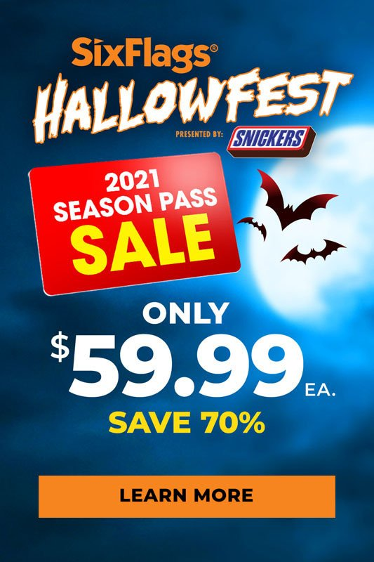 Season Pass Only $59.99