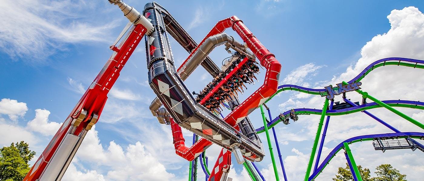 Harley Quinn and Joker at Six Flags
