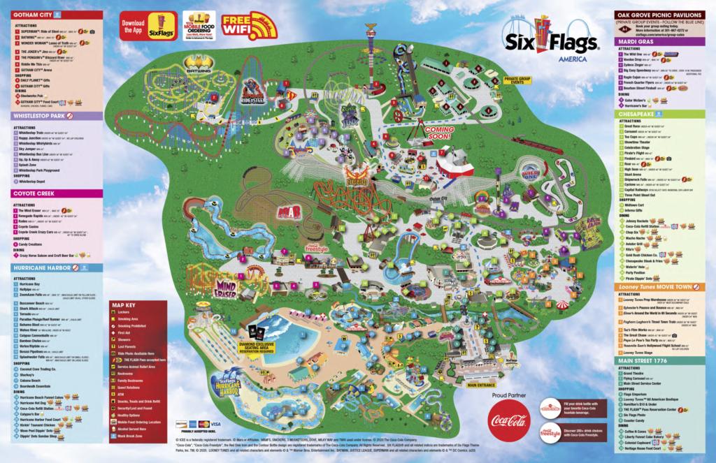 SFA Park Map