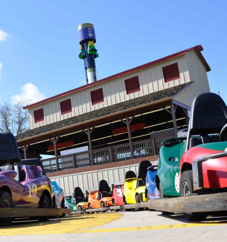Six Flags America's big easy speedway