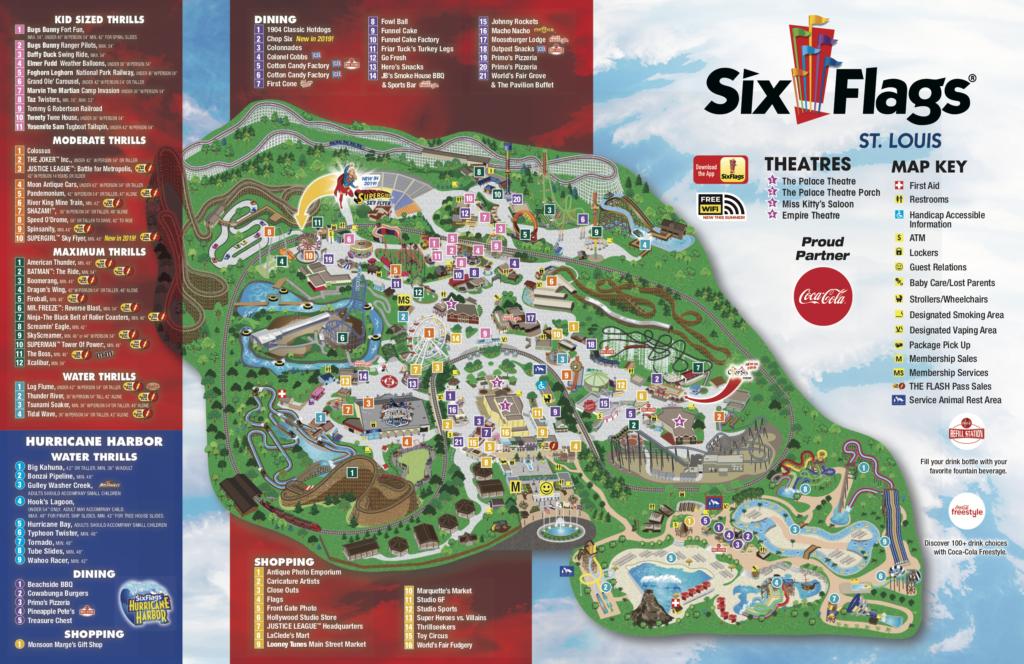 SFSL Park Map