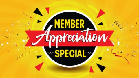 member appreciation logo