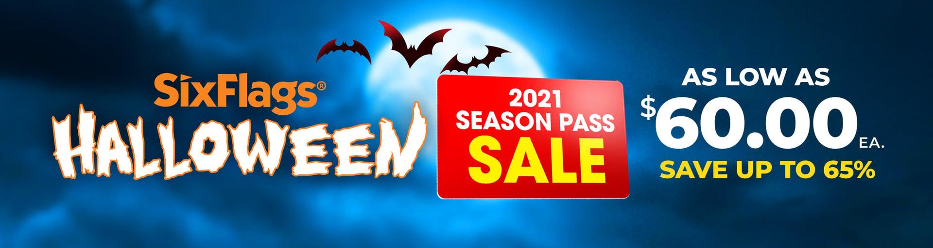 2021 Season Pass As Low As $60