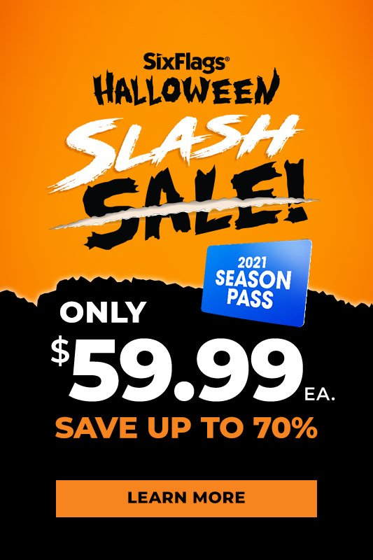 Slash sale season pass only $59.99 ea