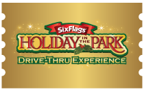 holiday drive-thru ticket