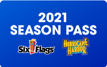 Hurricane Harbor and Six Flags Season Pass Card