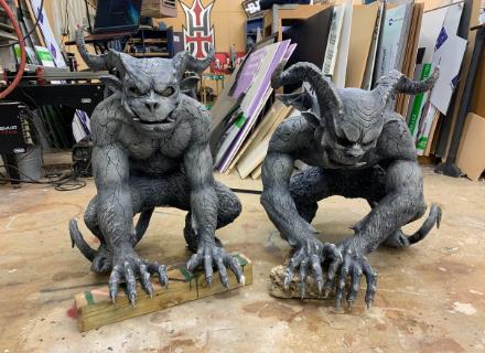 Poltergeist Two Gargoyle Props