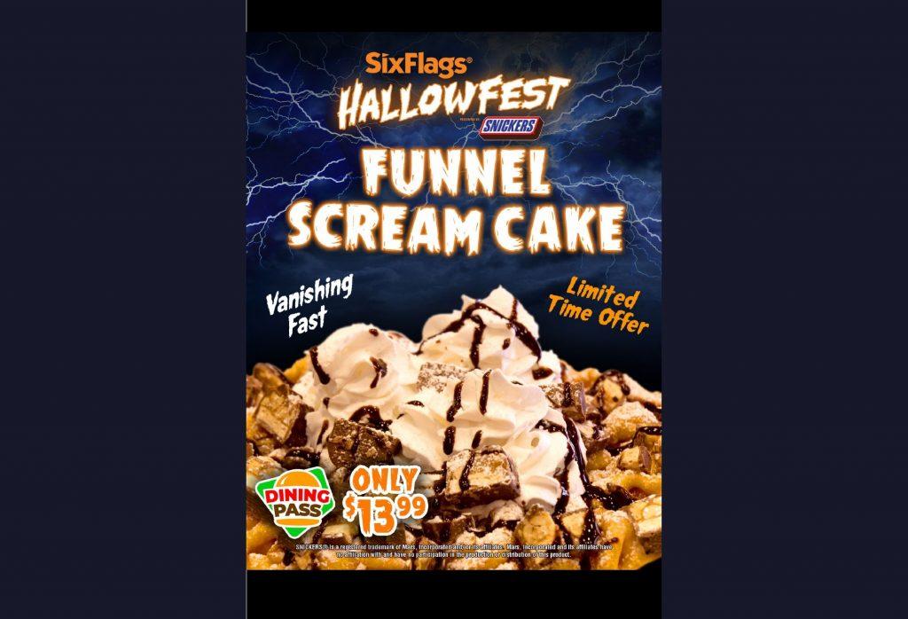 Funnel Scream Cake