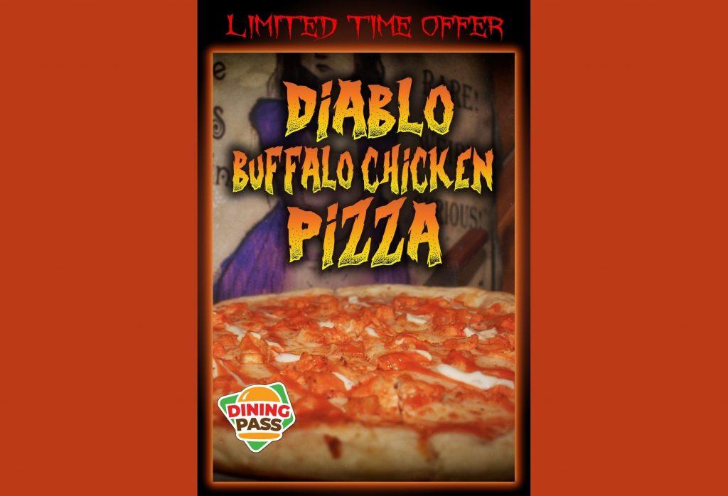 Diablo Chicken Pizza