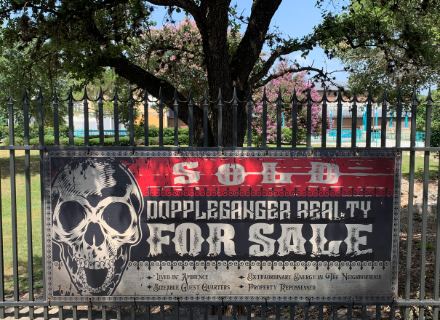 Poltergeist For Sale Sign