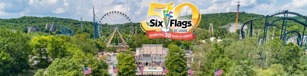 park shot anniversary Six Flags St Louis