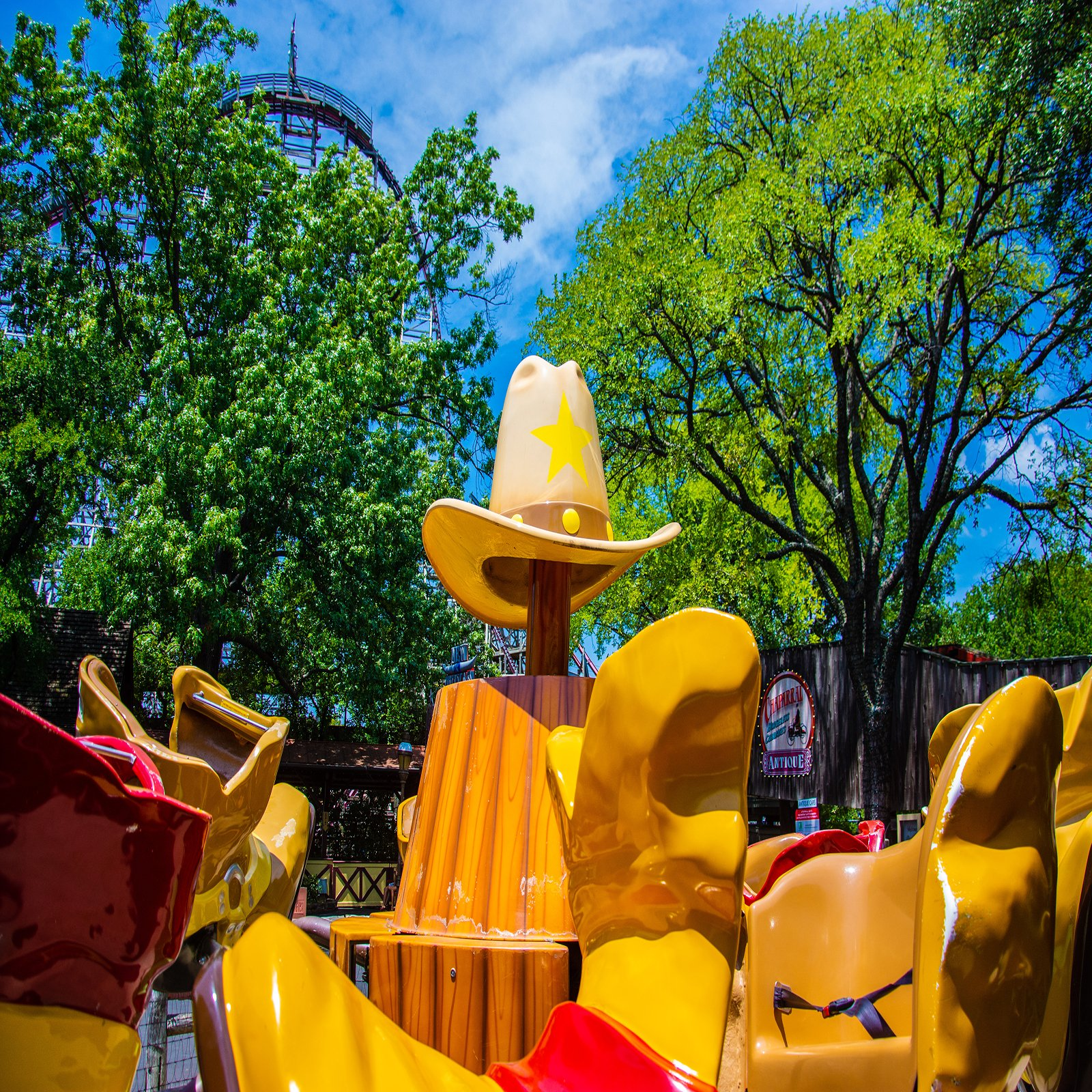 Boot Scootin at Six Flags Over Texas