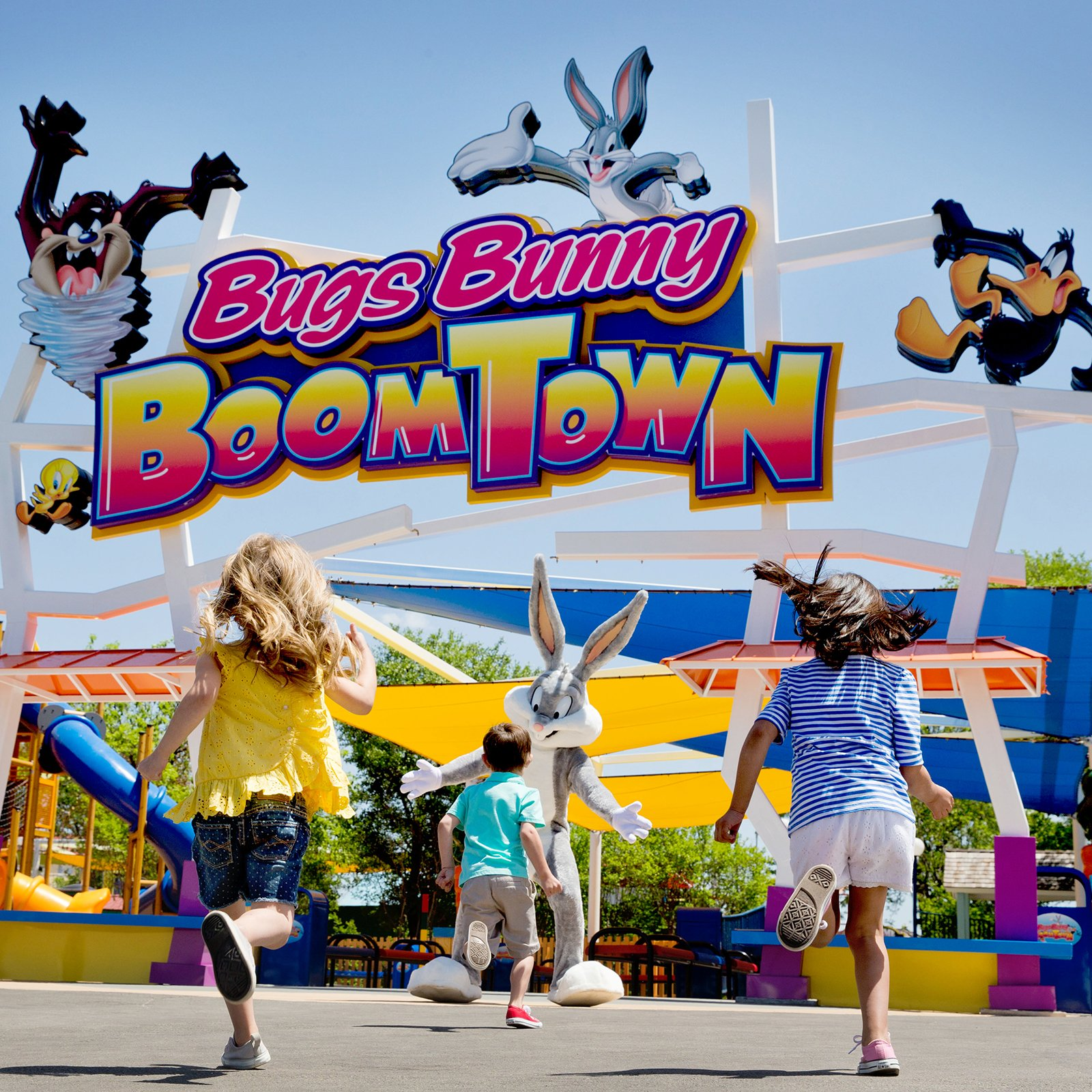Bugs Bunny Boomtown at Six Flags Over Texas