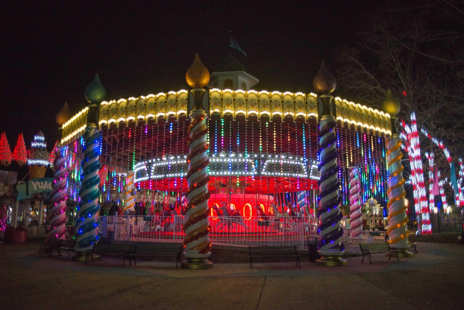 Carousel in Gingerbread Junction