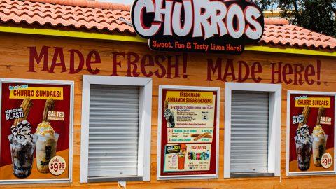 Casa de Churros at Six Flags Over Texas
