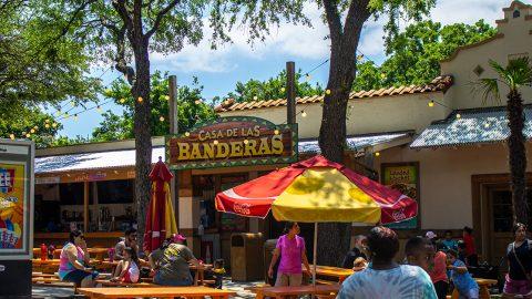 Casa de Las Banderas at Six Flags Over Texas