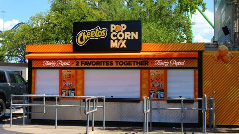 Cheetos Popcorn Mix at Six Flags Over Texas