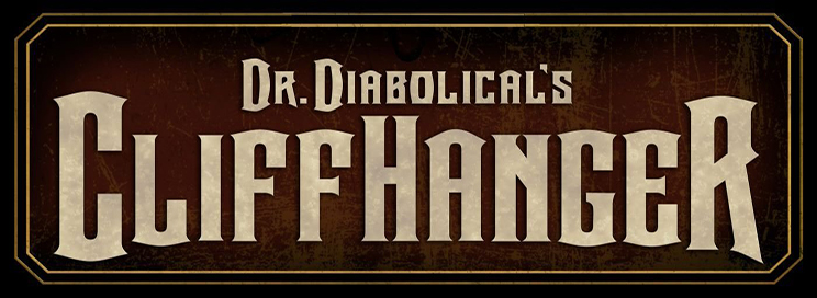 Dr. Diabolical's Cliffhanger, the world's steepest dive coaster