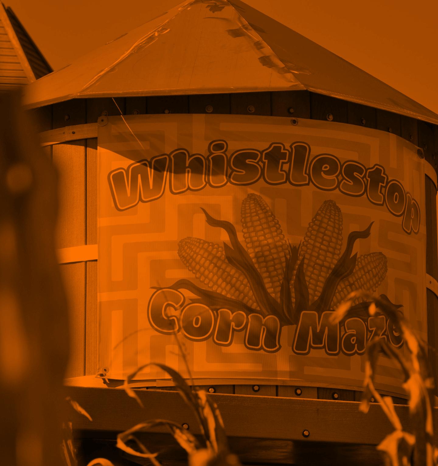 Whistlestop Cornmaze Watertower