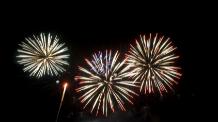 Six Flags Triple Fireworks