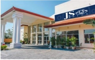 An outside view of Hotel JS.