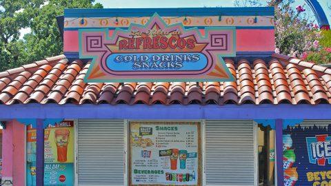 La Villa de Refrescos at Six Flags Over Texas