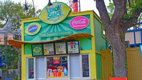 Lemon Shack at Six Flags Over Texas