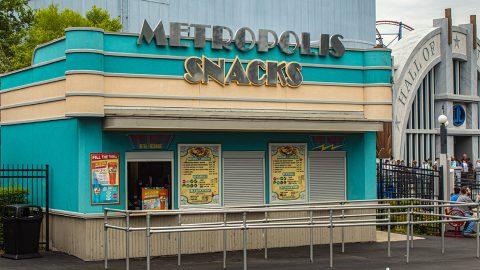 Metropolis Snacks at Six Flags Over Texas