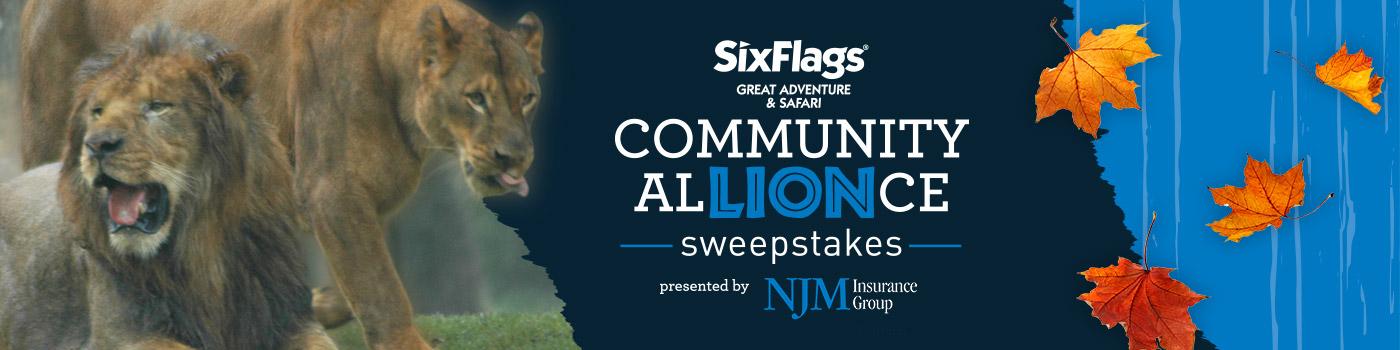 Six Flags Great Adventure Community AlLIONse