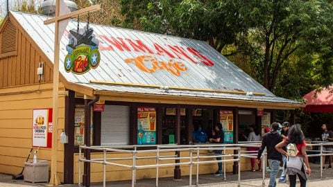 Newman's Cafe at Six Flags over Texas