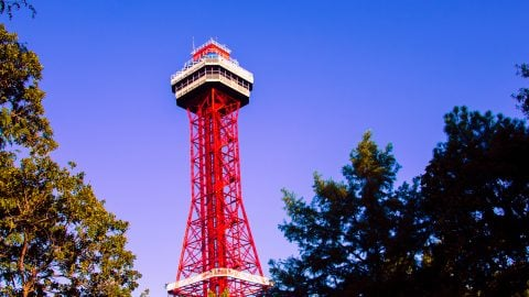 Oil Derrick at Six Flags Over Texas