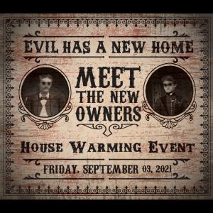 Poltergeist House Warming Invite