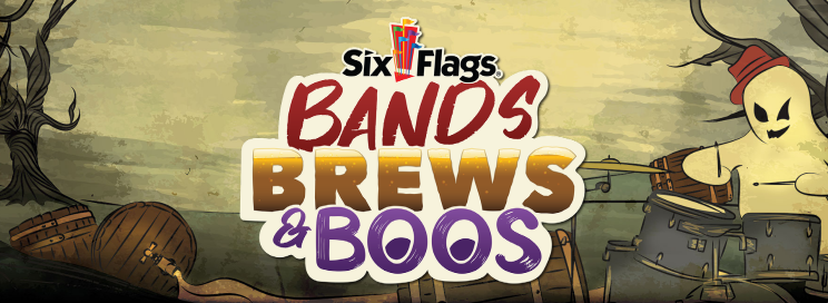 Six Flags America Bands Brews and Boos