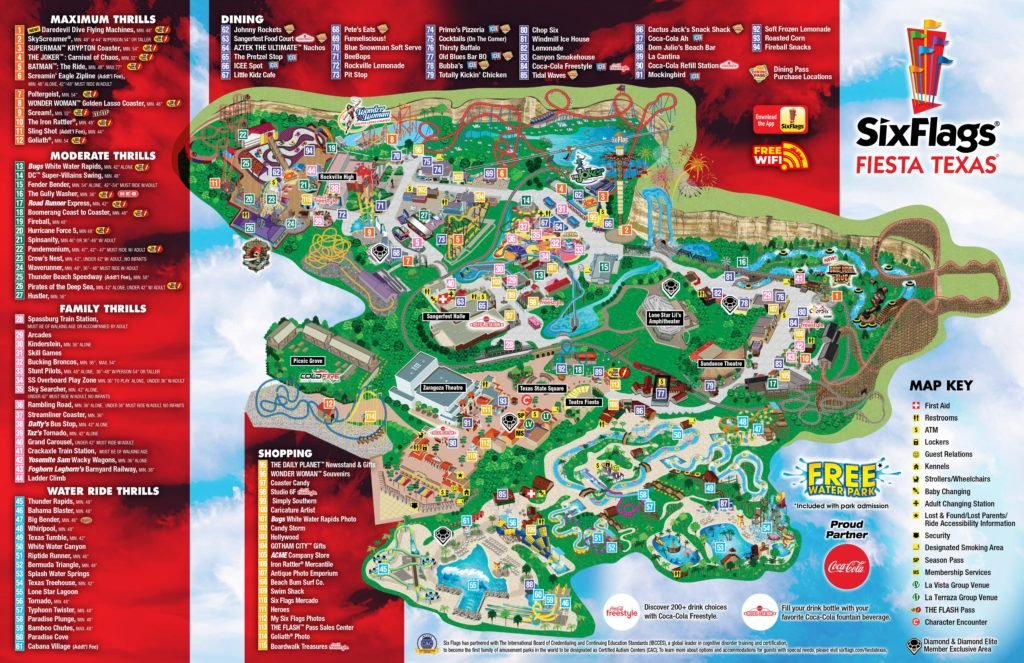 sfft park map