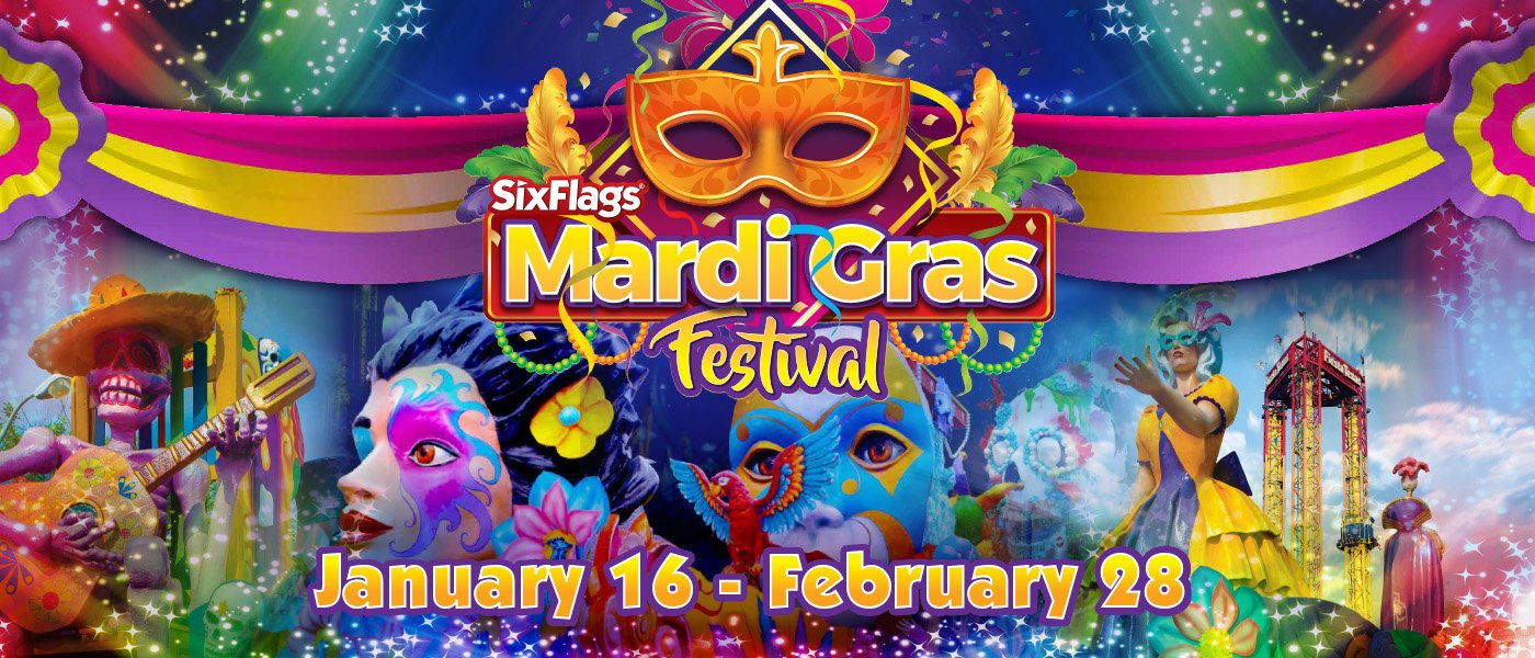 Mardi Gras Festival Logo